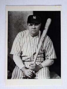 "Babe Ruth Yankees 1980's Fotofolio Postcard 4"" x 6"" - FLASH SALE"