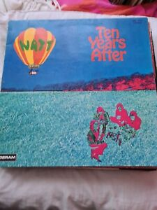 Ten Years After LP + Affiche - Watt / UK Sml 1078 Press En VG+