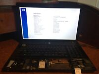 HP Probook 4710s Core 2 Duo @ 2.10GHz 3GB - No HDD, OS, Batt. Bios Locked (M5)