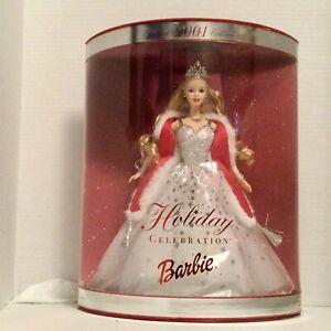 Mattel Holiday Celebration 2001 Barbie Doll Mint Condition. NRFB