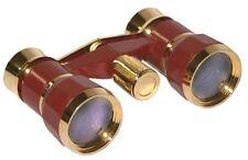 Anteojos de ópera 3x25 prismáticos de Borgoña Oro, Londres Rigoletto