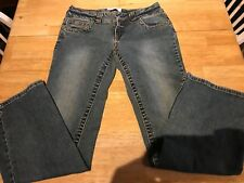 Juniors Womens Duck Head Blue Jeans Size 7 Average