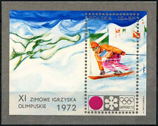 Poland 1972 SG#MS2132 Winter Olympic Games MNH M/S #D39162