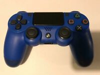 Third Party DualShock 4 PlayStation 4 Wireless Controller - Blue (PS4) M91