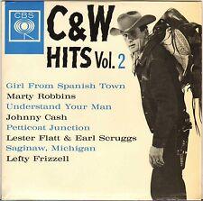 "RARE JOHNNY CASH + 3 ""UNDERSTAND YOUR MAN"" U.K. 60'S EP CBS AGG 20041"