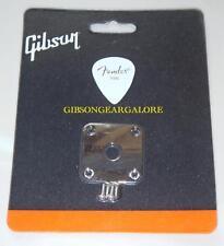 Gibson Les Paul Jack Plate Nickel Output Cord Input Guitar Parts Custom HP R9 CS