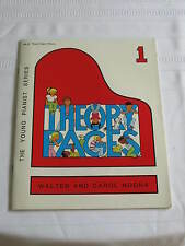 The Young Pianist Series Theory Pages Book 1 Music Book  Piano Noona