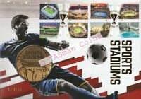 PNC Australia 2020 Sports Stadiums Medallion Cover Limited Edition 150 # 150