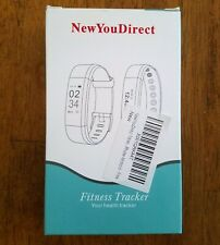 New You Direct Fitness Tracker Android 4.4 and above Ios 7.1 and above Pink Band