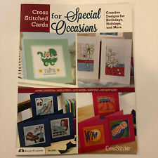 Design Originals Cross Stitched Cards For Special Occasions Pattern Book