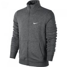Felpa invernale Uomo Nike con tasche Full Zip 611468 071 Melange Grigio S