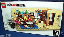 21302 THE BIG BANG THEORY LEGO CUUSOO/IDEAS - sealed new NISB 484 pc
