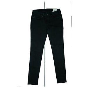PEPE JEANS Pixie Damen Slim Skinny Fit super stretch Hose W31 L32 Schwarz NEU