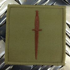 Genuine British ROYAL MARINES Royal Navy COMMANDO Dagger Patch / Badge - NEW