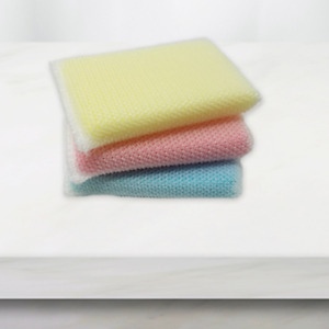 Non-Scratch Cleaning Pad 30 Pack (Yellow, Red or Blue)