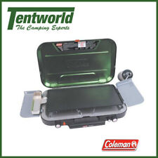 Coleman EvenTemp 3 Burner Outdoor Stove with Griddle & Grease Cup