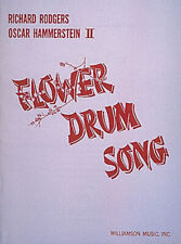 Flower Drum Song Rodgers & Hammerstein Musical Vocal Score Piano Sheet Music