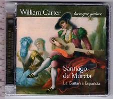 William Carter ,  La Guitarra Espanola, Santiago De Murcia (1682-1732) (CD_SACD)