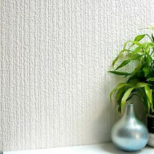 Anaglypta Wallcovering Luxury Textured Paintable Vinyl Willow Bough White 804301