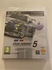 Gran Turismo 5 Academy Edition-PS3 Playstation Nuevo y Sellado