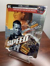 Speed Steelbook (4K UHD+Blu-ray+Digital) Factory Sealed