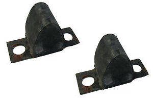 2 Lower Control Arm Rubber Bumpers 1972-1979 Lincoln Continental Mark IV & V
