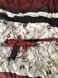 Ans Gxe Race Gun Autococker / Cocker Paintball Marker Wgp Free Flow Very RAre