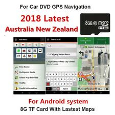 New 8Gb Micro Sd Card Car Gps Australia New Zealand Map For Android system