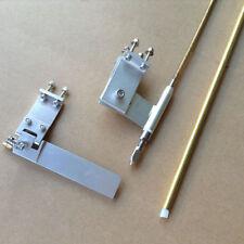 """95mm puntal del timón ajustable y 3/16"""" Juego De Cables Para Nitro o eléctrico RC Barco"""