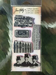 Curious Possibility CSS30195  Tim Holtz Stampers Anonymous NEW
