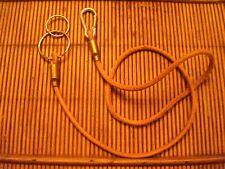 Bushcraft  Handcrafted leather keysafe lanyard