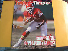 Kansas City Chiefs 12-16 2007 Tailgate Times Gameday Program  TENNESEE TITANS