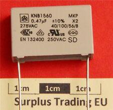 ISKRA knb1560 0.47uf 275vac CLASSE x2 RFI supression Condensatore