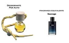 Profumatore Deodorante Profumo Per Auto SAUVAGE ispirato (spediz. veloce)