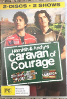 Hamish & Andy's CARAVAN OF COURAGE Great Britain,` Ireland and the USA  2 Disc D