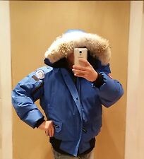 2018 LATEST CONCEPT POLAR BEAR CANADA GOOSE BLUE LABEL PBI CHILLIWACK LG PARKA