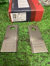 More details for vicon mower knife blade vn99358700 r/h pack of 25