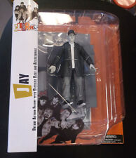 """Diamond Select Movie Clerks Black and White 7"""" Action Figure Jay New"""