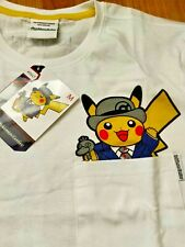 Pokemon Center London official Pikachu t-shirt, new white size medium adult