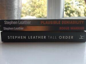Stephen Leather Books Bundle