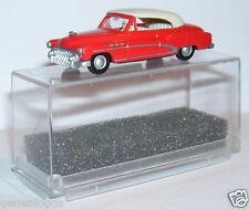 MICRO PRALINE HO 1/87 BUICK 50 CABRIOLET FERME ROUGE ORANGE IN BOX