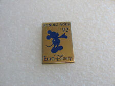 PIN'S MICKEY RENDEZ VOUS 92 EURO DISNEY ARTHUS BERTRAND EURODISNEY DLP PIN T4