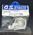 OS RC Plane 40 - 46FX Engine Cover Plate Body New Old Stock 25607100