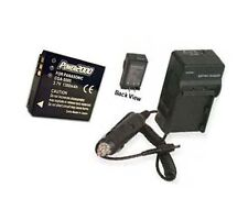 Battery + Charger for Samsung HMX-R10SN/XAC HMXR10SNXAC