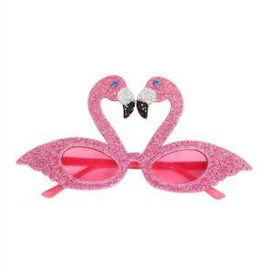 Pink Flamingo Acrylic Glasses