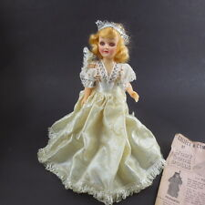Vintage Story Book Doll Fairy Princess Wand Mail Order 7 In Hard Plastic 60s