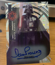 2015 Topps Star Wars High Tek Autograph Auto David Prowse as Darth Vader /75