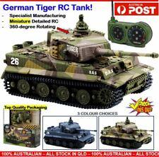 RC Tank Model Tank RC Tank Toy Kids Army Toy Tank RC Tiger Tank Military Toy AU