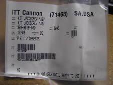 ITT CANNON JACKSCREW KIT # 320-9519-000  NSN: 5935-01-216-4721  ( ONE JACKSCREW)