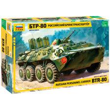 "ZVEZDA 3558 Model Kit ""Russian Personnel Carrier BTR-80"""